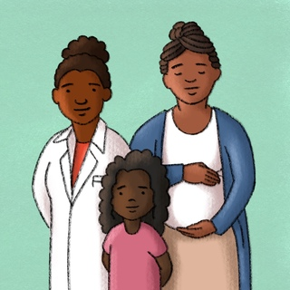 Racism as a Public Health Crisis with AAFP President Dr. Ada Stewart Artwork