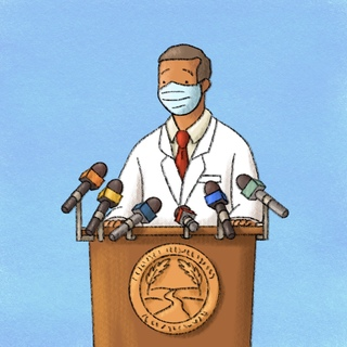 The Big Picture: Being A County Health Officer in a Pandemic Artwork